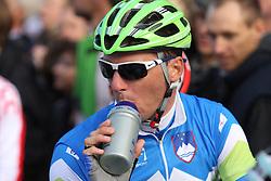 Jure Kocjan (Slovenia) during the Men's Elite Road Race at the UCI Road World Championships on September 25, 2011 in Copenhagen, Denmark. (Photo by Marjan Kelner / Sportida Photo Agency)