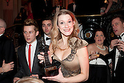 CAST OF INTO THE WOODS, Post Olivier Awards Gala party. Waldorf Astoria. London. 13 March 2011. -DO NOT ARCHIVE-© Copyright Photograph by Dafydd Jones. 248 Clapham Rd. London SW9 0PZ. Tel 0207 820 0771. www.dafjones.com.