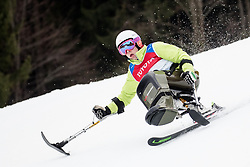 Jernej Slivnik of Slovenia during Para Alpine Skiing World Cup, on January 11, 2018 in Kranjska Gora, Kranjska Gora, Slovenia. Photo by Matic Klansek Velej / Sportida