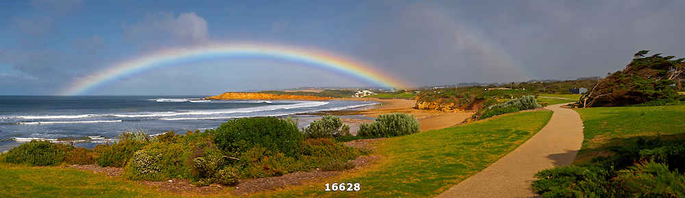 rainbow over Torquay Surf Beach