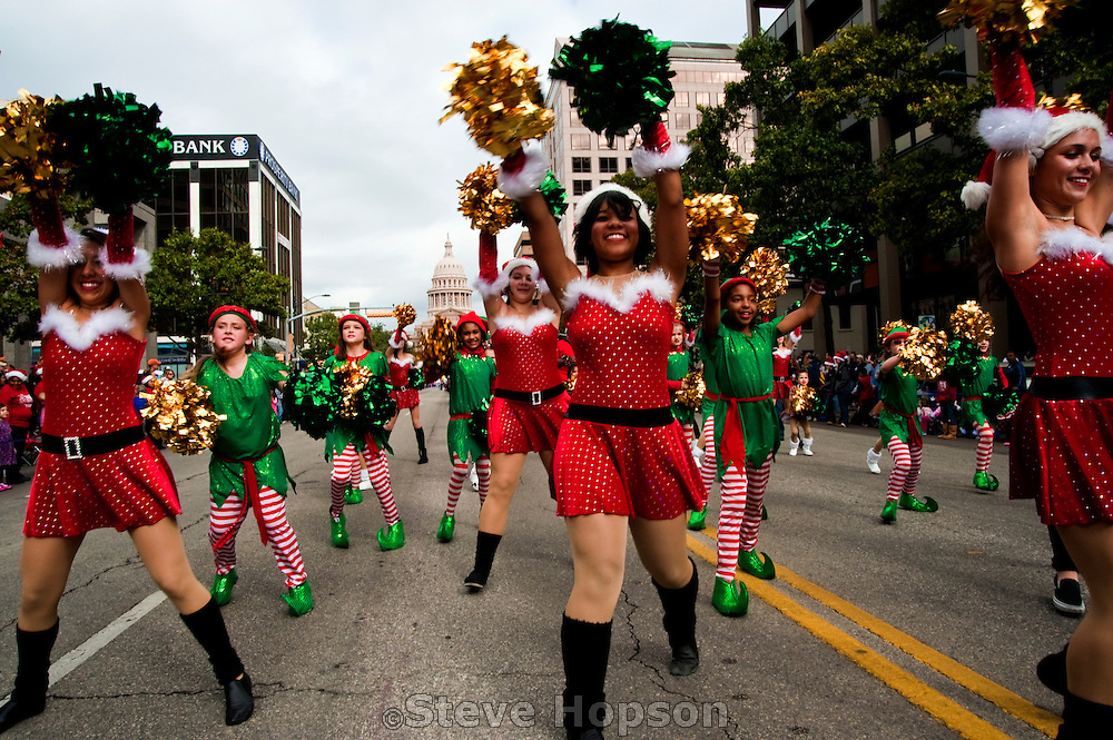 The Chuy's Children Giving to Children Parade, Austin Texas, November 28, 2009.
