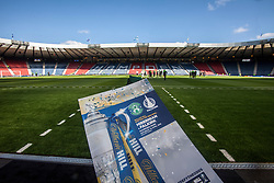 Hibernian v Falkirk, William Hill Scottish Cup semi-final, played 18/4/2015 at Hamden Park, Glasgow.