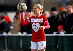 Poppy Pattinson of Bristol City - Mandatory by-line: Nizaam Jones/JMP - 27/01/2019 - FOOTBALL - Stoke Gifford Stadium - Bristol, England - Bristol City Women v Yeovil Town Ladies- FA Women's Super League 1