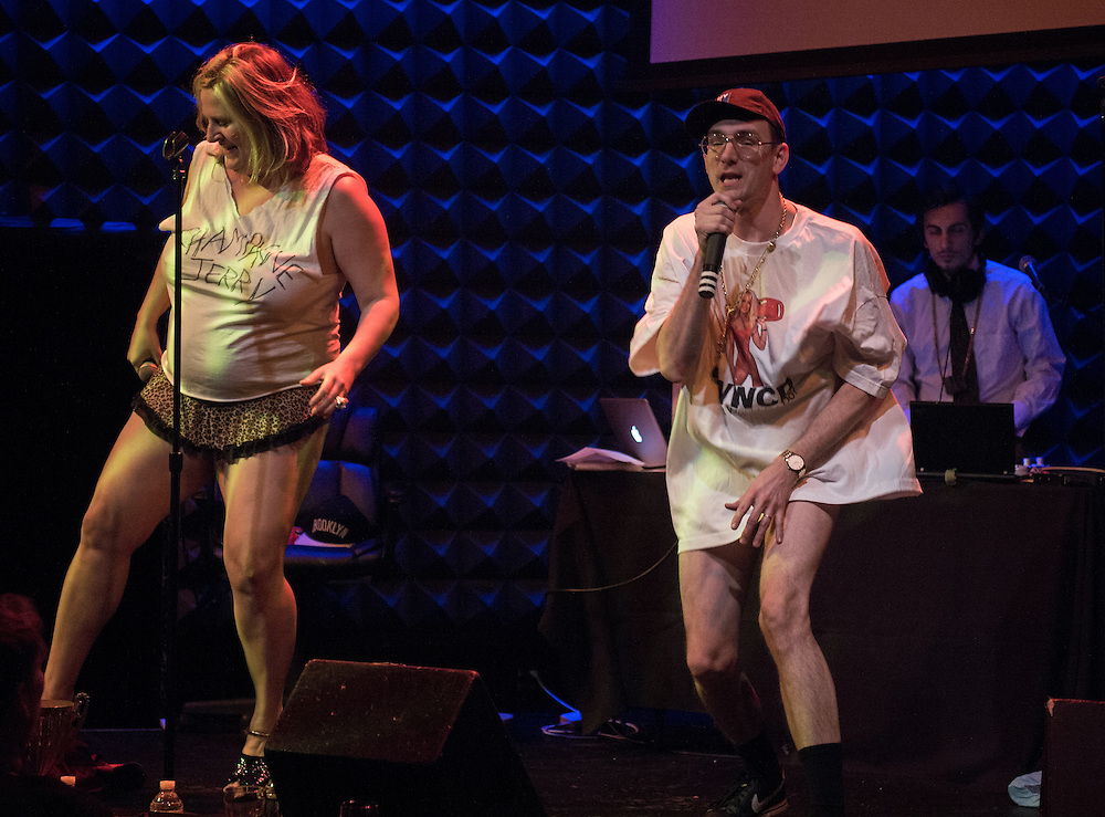 Champagne Jerry and Bridget Everett
