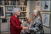 ROBIN DALTON; VISCOUNTESS STUART OF FINDHORN;; JACQUI SMALL; , Ralph Lauren host launch party for Nicky Haslam's book ' A Designer's Life' published by Jacqui Small. Ralph Lauren, 1 Bond St. London. 19 November 2014