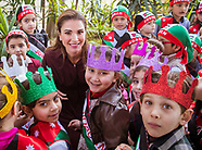 Queen Rania Visits Community  Centers Association