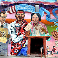 Frutos De La Expresion Mural by Claire Bain in Albuquerque, New Mexico<br />