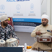 Hundreds attend the London EID Festival with food and drinks and live music at Westfield London on June 24, 2018.