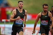 Andrew POZZI of Great Britain, winner of the Men's 110m Hurdles Heat 1 during the Muller Grand Prix 2018 at Alexander Stadium, Birmingham, United Kingdom on 18 August 2018. Picture by Toyin Oshodi.