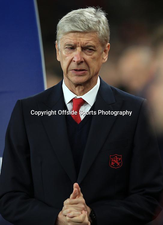 29 September 2015 - UEFA Champions  League (Group F) - Arsenal v Olympiakos - Arsene Wenger manager of Arsenal - Photo: Marc Atkins / Offside.