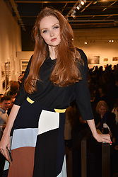 Lily Cole at The Philanthropist After Party held at The Mall Galleries, 17 Carlton House Terrace, London England. 20 April 2017.