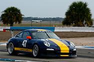#47 Alex Job Racing Porsche GT3 Cup: John Baker