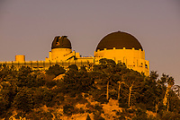 Griffith Park Observatory, Los Angeles, California USA.