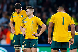 Australia Winger Drew Mitchell looks dejected after New Zealand win the match 34-17 to become 2015 World Cup Champions - Mandatory byline: Rogan Thomson/JMP - 07966 386802 - 31/10/2015 - RUGBY UNION - Twickenham Stadium - London, England - New Zealand v Australia - Rugby World Cup 2015 FINAL.