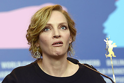 610377255<br /> Uma Thurman during the Nymphomaniac Volume I press conference at the 64th Berlin International Film Festival / Berlinale 2014, Berlin, Germany, Sunday, 9th February 2014. Picture by  imago / i-Images<br /> UK ONLY