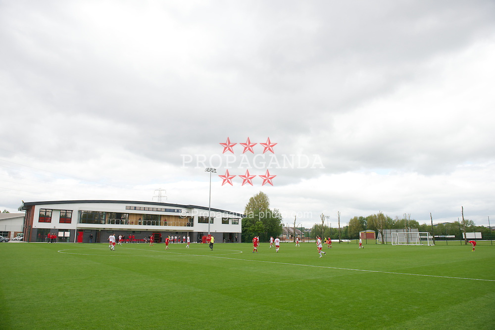 NEWPORT, WALES - Wednesday, May 22, 2013: Players during the Football Association of Wales' UEFA Pro Licence Course 2013 at Dragon Park. (Pic by David Rawcliffe/Propaganda)