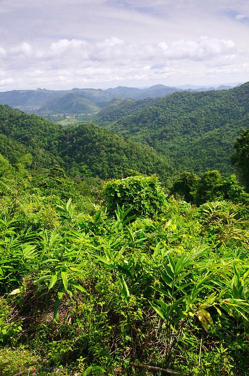 Mountain vista, Khao Yai National Park, Thailand
