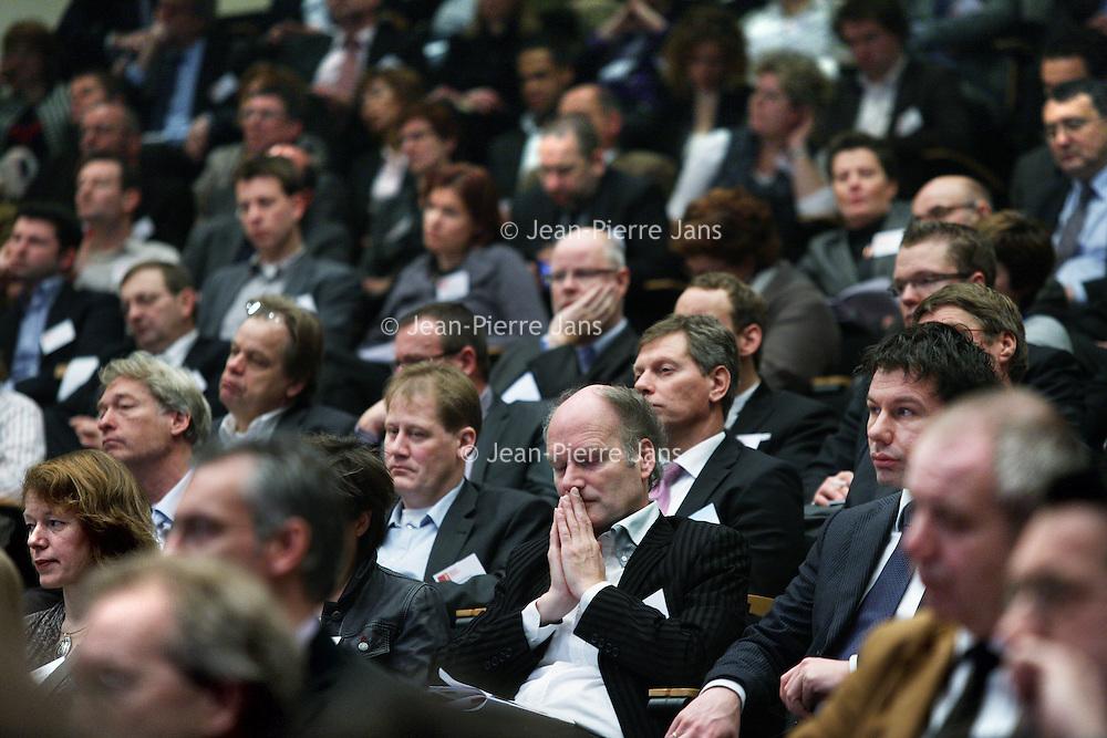 Nederland, Rotterdam , 6 januari 2011..King congres in de Doelen..King is in het leven geroepen door gemeenten om sterke ondersteuning aan hen te biedenbij het realiseren van krachtig lokaal bestuur en hoge kwaliteit van gemeentelijke dienstverlening..Foto:Jean-Pierre Jans