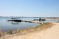 Villaggio di pescatori a Taranto