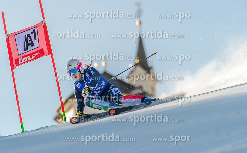 28.12.2015, Hochstein, Lienz, AUT, FIS Ski Weltcup, Lienz, Riesenslalom, Damen, 1. Durchgang, im Bild Nadia Fanchini (ITA) // Nadia Fanchini of Italy during 1st run of ladies Giant Slalom of the Lienz FIS Ski Alpine World Cup at the Hochstein in Lienz, Austria on 2015/12/28. EXPA Pictures © 2015, PhotoCredit: EXPA/ Michael Gruber
