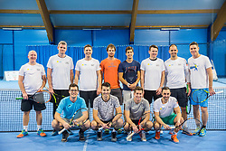 Sponsors of Tenis Slovenija with Slovenian men Davis Cup team, on January 25, 2018 in Tennis Centre Breskvar, Ljubljana, Slovenia.  Photo by Vid Ponikvar / Sportida