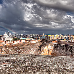 View of San Juan, Puerto Rico from Castillo de San Cristobal on Monday March 21, 2011.