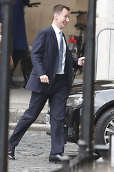 © Licensed to London News Pictures. 12/12/2018. London, UK. Foreign Secretary Jeremy Hunt is seen at Parliament . Prime Minister Theresa May will face a vote of confidence later after 48 letters were received to trigger a vote. Photo credit: Peter Macdiarmid/LNP