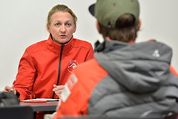 Captains Meeting, at 2018 World Para Alpine Skiing World Cup, Tignes, France