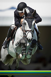 Alvarez Moya Sergio (ESP) - Carlo 273<br /> Grand Prix Longines de la Ville de La Baule<br /> Longines Jumping International La Baule 2014<br /> © Hippo Foto - Dirk Caremans