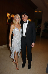 Dancer CAMILLA DALLERUP and FABIO D'ALONZO at a ball in aid of Diema's Dream - a foundation for Russian Disabled Children held at The Four Seasons Hotel, Hamilton Place, London on 24th November 2006.<br /><br />NON EXCLUSIVE - WORLD RIGHTS