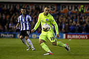 Brighton striker Jiri Skalak (38)  during the Sky Bet Championship play-off first leg match between Sheffield Wednesday and Brighton and Hove Albion at Hillsborough, Sheffield, England on 13 May 2016. Photo by Simon Davies.