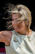 15-6-2017 AMSTERDAM - Queen Maxima arrives at the palace in amsterdam  for the  Palace Symposium depopulation of rural areas ROBIN UTRECHT