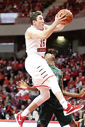 05 December 2015: Justin McCloud(15). Illinois State Redbirds host the University of Alabama - Birmingham Blazers at Redbird Arena in Normal Illinois (Photo by Alan Look)