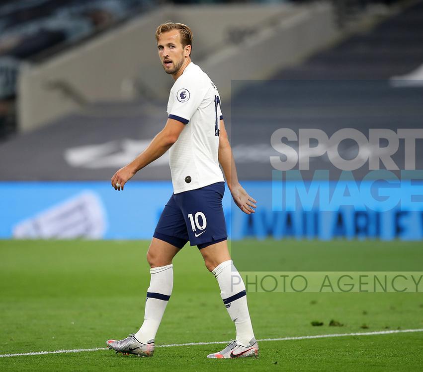 Tottenham's Harry Kane during the Premier League match at the Tottenham Hotspur Stadium, London. Picture date: 23rd June 2020. Picture credit should read: David Klein/Sportimage