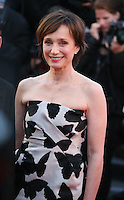 Actress  Kristin Scott Thomas at The Immigrant film gala screening at the Cannes Film Festival Friday 24th May May 2013