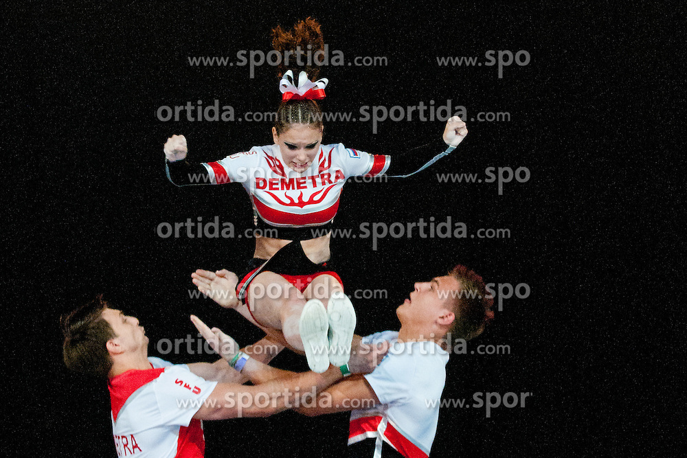 Demetra 1, Russia at European Cheerleading Championship 2011, on July 2, 2011, in SRC Stozice, Ljubljana, Slovenia (Photo by Matic Klansek Velej / Sportida)