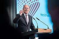 09 MAY 2019, BERLIN/GERMANY:<br /> Olaf Scholz, SPD, Bundesfinanzminister, haelt eine Rede, Wirtschaftskonferenz, Wirtschaftsforum der SPD, Kalkscheune<br /> IMAGE: 20190509-01-218
