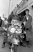 Sting during the filming of Quadrophenia - 1979