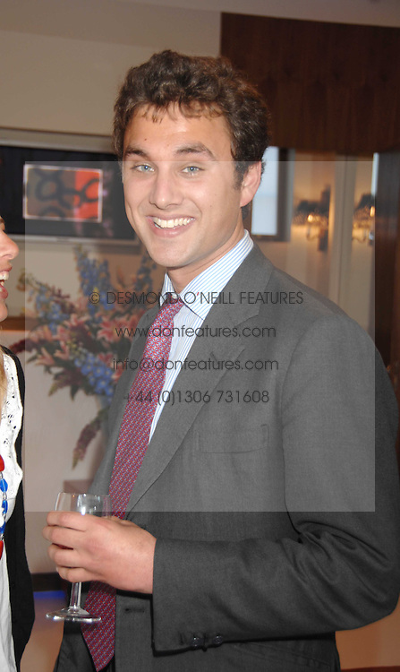 THOMAS VAN STRAUBENZEE at the launch of The Rupert Lund Showroom, 61 Chelsea Manor Street, London SW3 on 2nd May 2007.<br /><br />NON EXCLUSIVE - WORLD RIGHTS