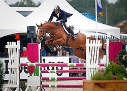 Keunen Pieter (NED) - Entertainer<br /> 4 jarige Springpaarden<br /> KWPN Paardendagen Ermelo 2013<br /> © Dirk Caremans