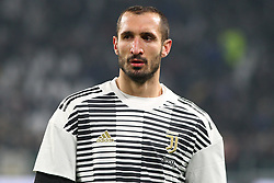 December 23, 2017 - Turin, Piedmont, Italy - Giorgio Chiellini (Juventus FC) before the Series A football match between Juventus FC and AS Roma at Allianz Stadium on 23 December, 2017 in Turin, Italy. .Juventus won 1-0 over Roma. (Credit Image: © Massimiliano Ferraro/NurPhoto via ZUMA Press)