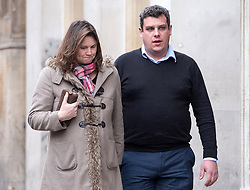 FILE PICTURE © Licensed to London News Pictures. 21/12/2016. Bristol, UK. MATTHEW GORDON (right) arriving at Bristol Crown Court yesterday has been found guilty of four counts of manslaughter following the tipper truck crash trial. Mechanic Peter Wood was also found guilty after last year's tragedy in Bath, when a runaway tipper truck killed four people and seriously injured two others on Lansdown Lane. Mitzi Steady aged 4 from Bath and Robert Parker, 59, Philip Allen, 52, and Stephen Vaughan, 34, who lived in Wales, lost their lives in the fatal collision. Mitzi's grandmother Margaret Rogers and another woman, Karla Brennan, were seriously injured. Photo credit : Simon Chapman/LNP