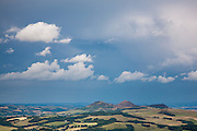 Elidon Hills seen from the Three Brethren, Yair, Scottish Borders, Scotland