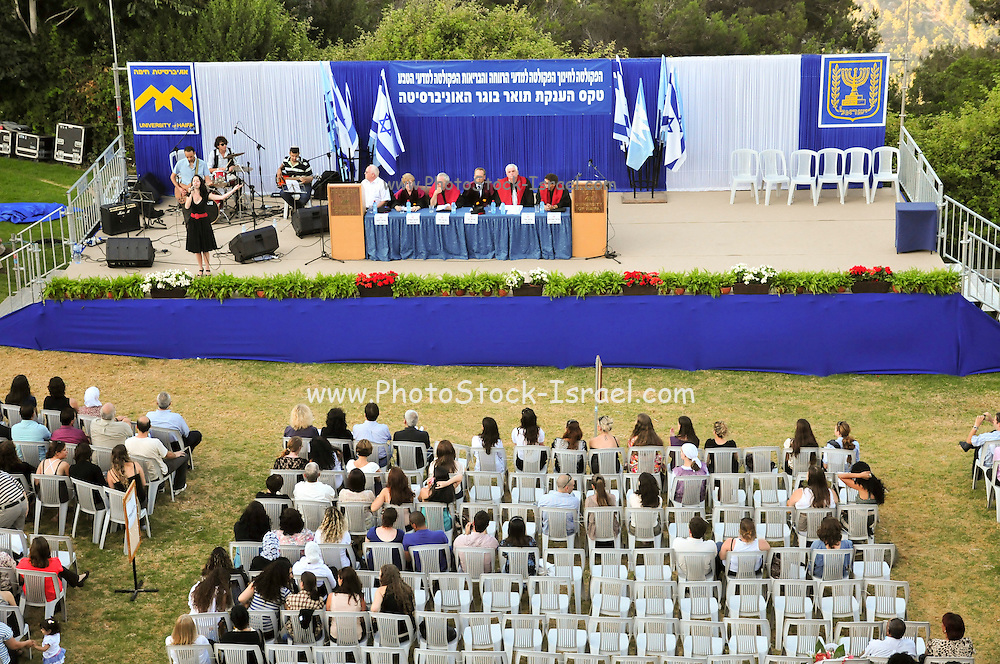 Israel, Haifa, Bachelor's Graduation Ceremony At the University of Haifa