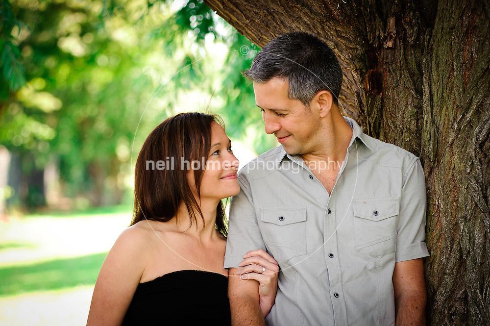 Richard Griffiths, Karen Butler engagement portrait, East Park, 2 July 2011