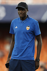 September 19, 2018 - Valencia, Valencia, Spain - Mouctar Diakhaby of Valencia CF looks on prior to the UEFA Champions League group H match between Valencia CF and Juventus at Mestalla on September 19, 2018 in Valencia, Spain  (Credit Image: © David Aliaga/NurPhoto/ZUMA Press)