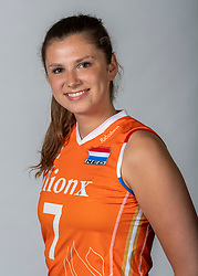 10-05-2018 NED: Team shoot Dutch volleyball team women, Arnhem<br /> Juliet Lohuis #7 of Netherlands