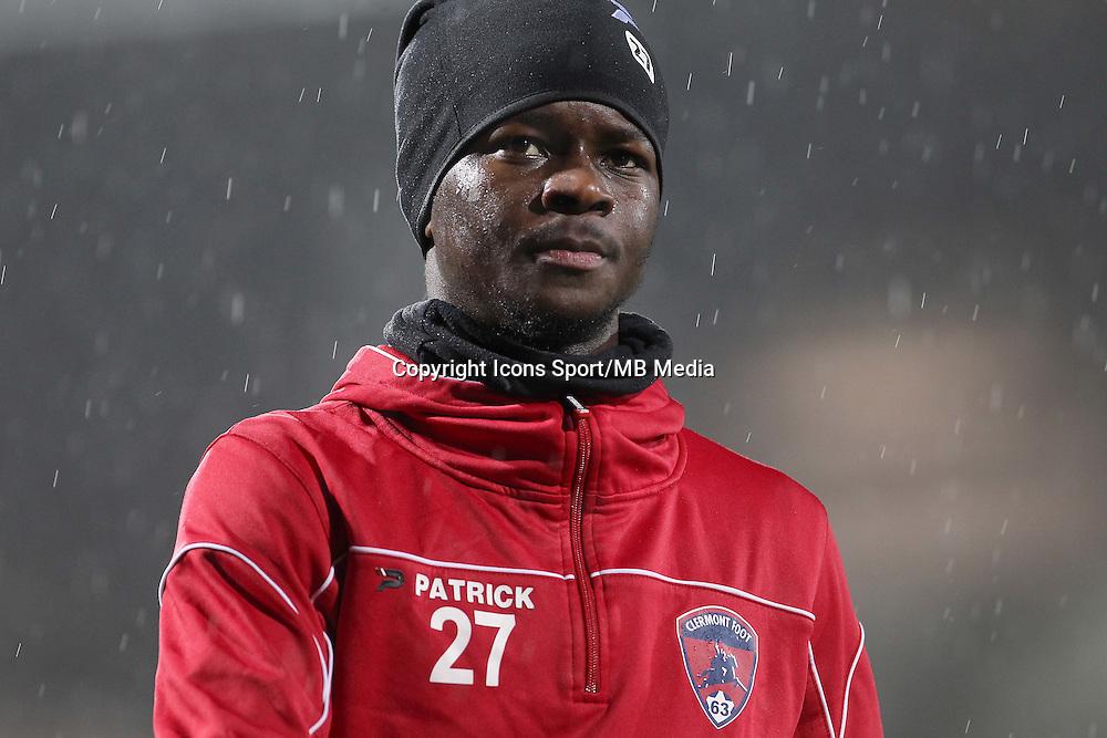 Souleymane SAWADOGO - 19.12.2014 - Nancy / Clermont - 18e journee Ligue 2<br />Photo : Fred Marvaux / Icon Sport