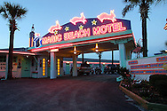 The art deco Magic Beach Motel in St. Augustine, Florida