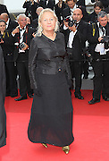 13.MAY.2011. CANNES<br /> <br /> AGNES B ON THE RED CARPET AT THE FILM PREMIERE OF HABEMUS PAPAM AT THE 64TH CANNES INTERNATIONAL FILM FESTIVAL 2011 IN CANNES, FRANCE<br /> <br /> BYLINE: EDBIMAGEARCHIVE.COM<br /> <br /> *THIS IMAGE IS STRICTLY FOR UK NEWSPAPERS AND MAGAZINES ONLY*<br /> *FOR WORLD WIDE SALES AND WEB USE PLEASE CONTACT EDBIMAGEARCHIVE - 0208 954 5968*